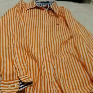 Tommy Hilfiger women's button-down shirt